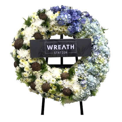 Wreath Station W040