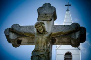 รูปพระเยซูถูกตรึงบนไม้กางแขน