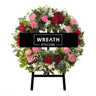 พวงหรีดหลากสี ได้รับความนิยมมาก การันตีจาก Wreath Station
